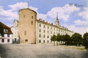 Riga Castle. The beginning of 20th c.