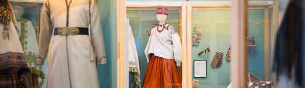 Only till 15 July the hall dedicated to the national costumes will be on display