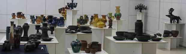 Только до 8 сентября открыта выставка «Латгальская керамика - традиции и современность»
