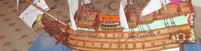 Hercoga Jēkaba kuģa makets atceļo uz Brīvības bulvāri 32