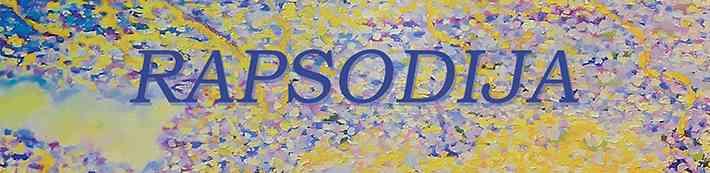 "Gleznu izstāde Dauderos - ""Rapsodija"""