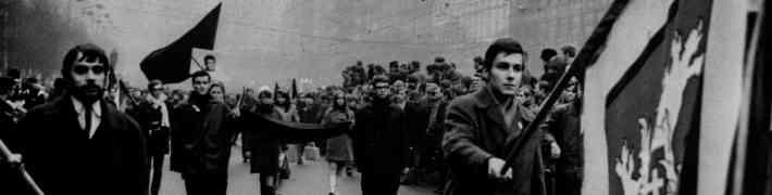 """Vēl tikai līdz 31. martam skatāma izstāde """"Prāgas pavasara izskaņa. Studenta Jana Palaha traģiskais protests"""""""