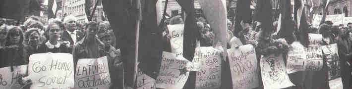 """26. oktobrī Tautas frontes muzejā sarīkojums """"Trešās atmodas bruņotie spēki – fotogrāfi"""""""