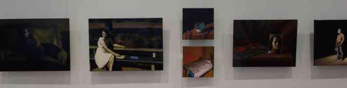 """Līdz 17. jūnijam LNVM Dauderu nodaļā izstāde - Ivonnas Zīles gleznu cikls """"Mantojums"""""""