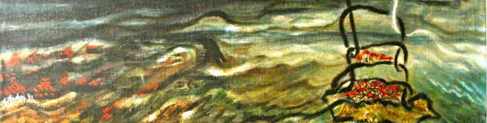 """LNVM Dauderu nodaļā apskatāma gleznu izstāde """"Lielvārdes josta. Atgriešanās"""""""