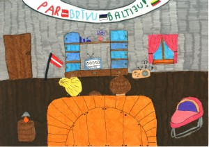Baltijas ceļš, Laura Gruntmane, 11 gadi
