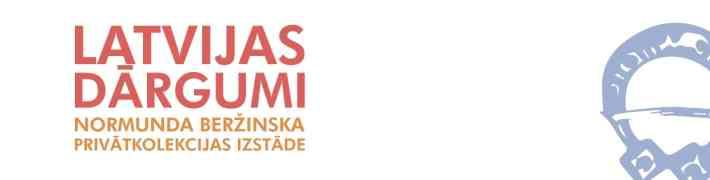 """Dauderu nodaļā Normunda Beržinska privātās kolekcijas izstāde """"Latvijas dārgumi"""""""