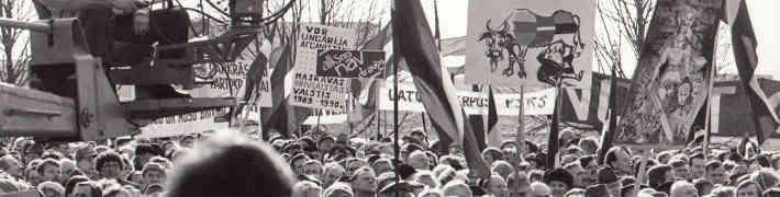 """26. novembrī Tautas frontes muzejs aicina tiešsaistē skatīties sarīkojumu """"Kauliņi ir mesti"""""""