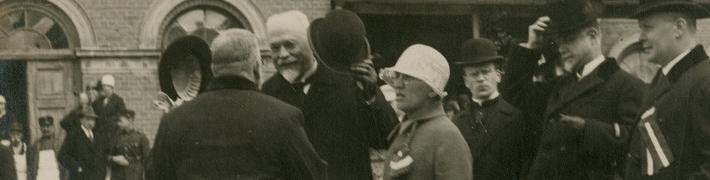"""7. septembrī ekskursija izstādē """"Valsts prezidentam Gustavam Zemgalam – 150"""""""